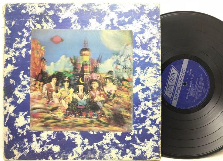 Rolling Stones - Their Satanic Majesties Request 3D Cover LP Vinyl Record Album