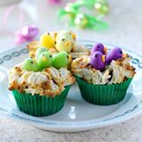 Fågelbon  http://www.dansukker.se/se/recept/faagelbon.aspx  Ett ätbart litet fågelbo #cake #easter #recept