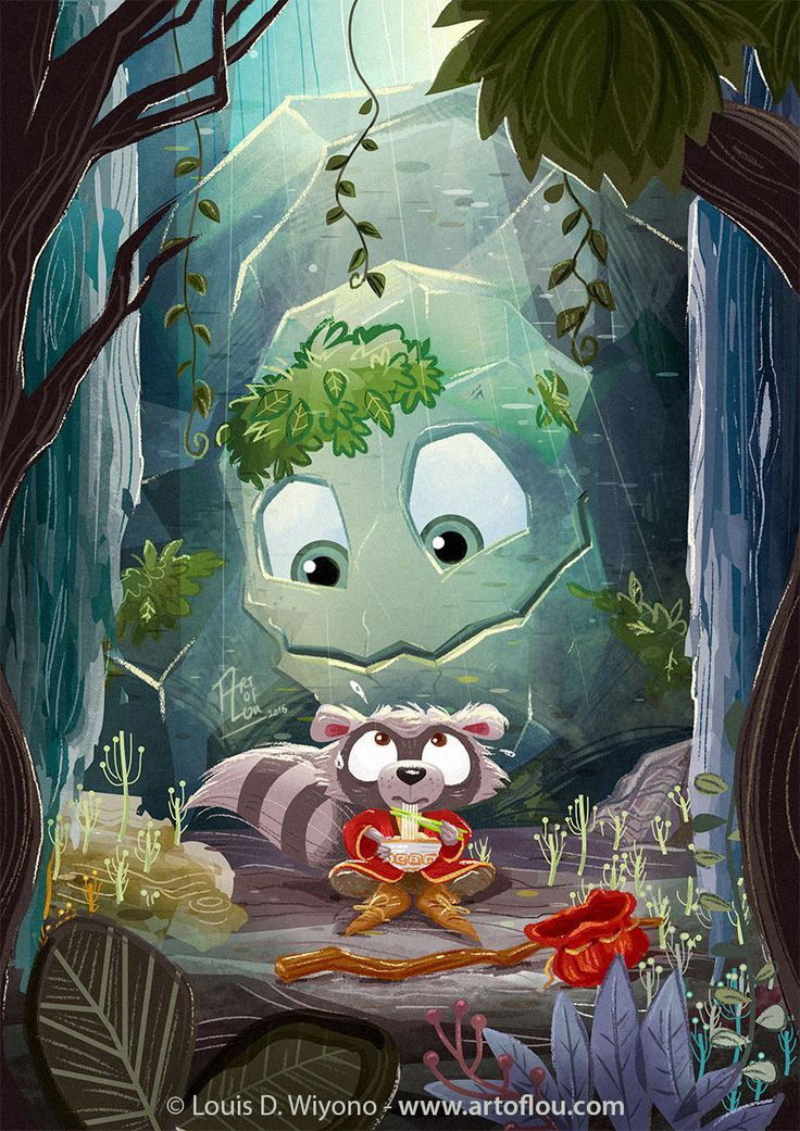 Art of Lou - Whimsical Children Illustration By Louis D Wiyono