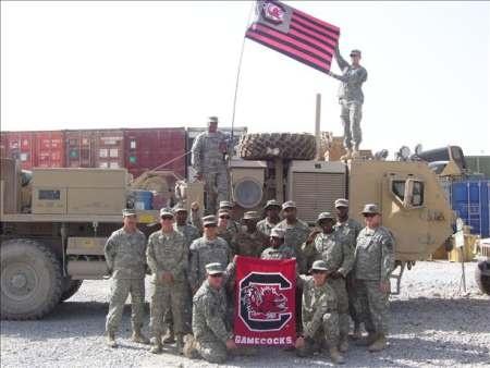 South Carolina Gamecocks in Afghanistan - 2011