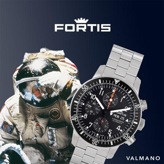 Nicht nur #Kosmonauten fliegen auf #Fortis #Uhren – VALMANO auch! Entdecke die hochwertigen #Schweizer #Uhren jetzt im Shop.