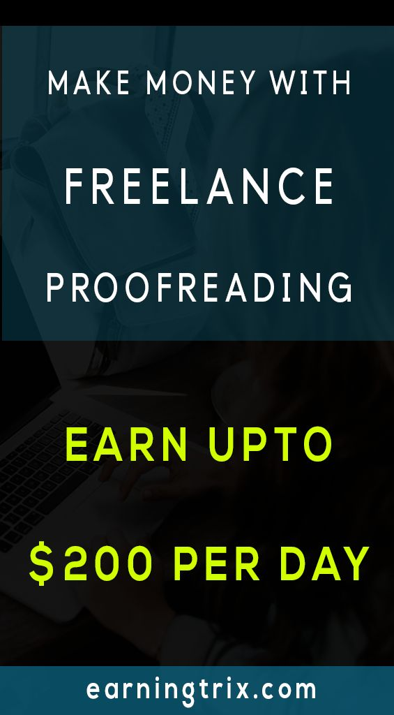 This Is How You Can Earn With Freelance Proofreading in 2019 – EarningTrix| Make Money Online
