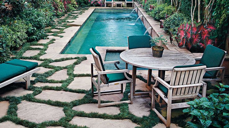 Enter a Swimming Pool's Oasis - Southern Living