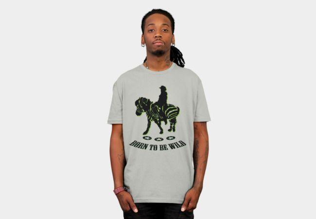 riding zebra T-Shirt