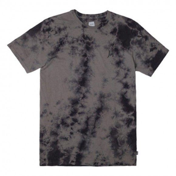 Huf Small Script Crystal Wash black T shirt - HUF - Brands | Manchester's Premier Skateboard Shop | NOTE Skate Shop Manchester