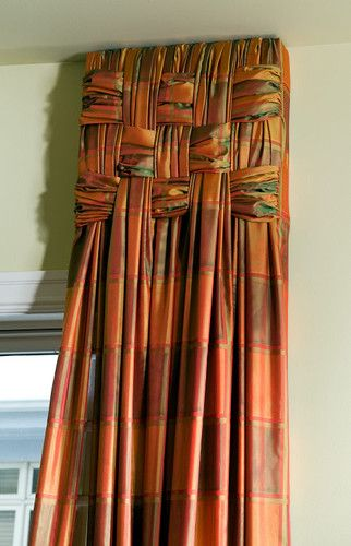 1000 ideas about modern window treatments on pinterest for Different curtain styles