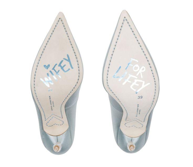 Inspiração de sapato para casamento.