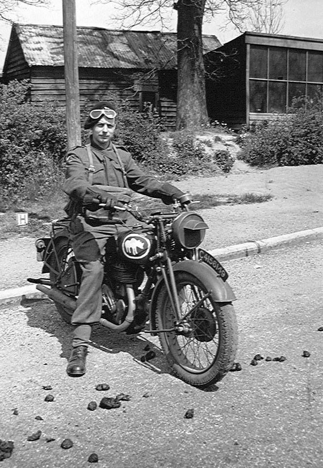 Photograph by Major W H J Sale, MC, 3rd/4th County of London Yeomanry (Sharpshooters), World War Two, 1940