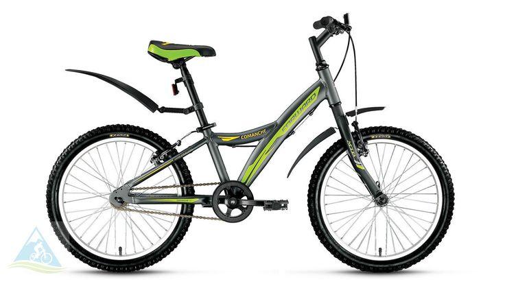Велосипеды спортивные горный 20 Forward Comanche 1.0 чер