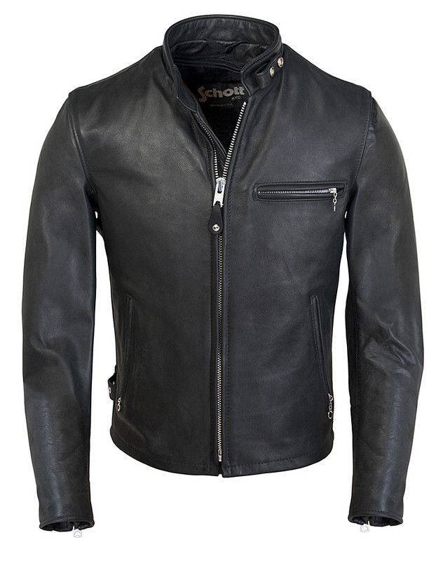 "Classic Racer Leather Motorcycle Jacket 141 Still have my (Schott) ""Bomber"" Jacket I wore for nearly ( '77 thru '86) 10 years."