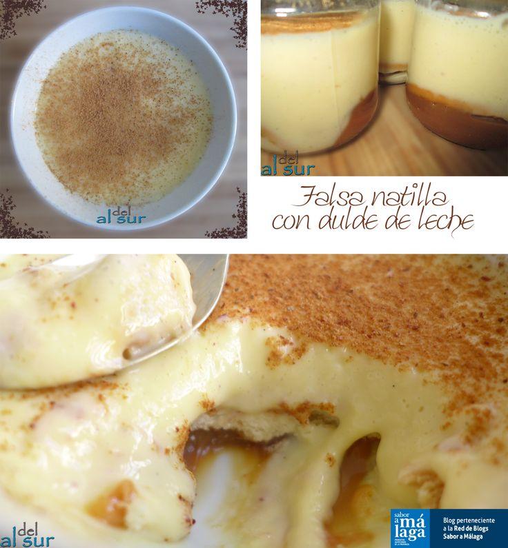 Alsurdelsur: Falsa natilla con dulce de leche