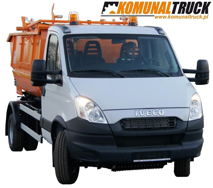 IVECO DAILY 70C17 3750mm KVC 7m3, small refuse truck, rear loader, satellite garbage vehicles, klein Kommunalfahrzeuge, Benne a ordures, Recolectores, piccoli camion, Carico posteriore