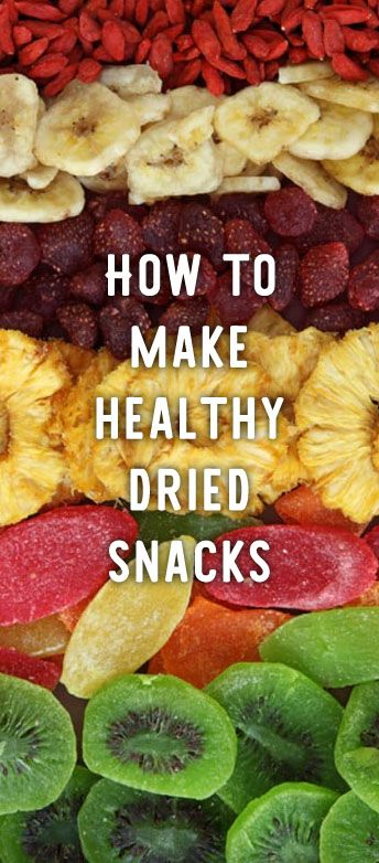Easily make your own healthy dried snacks