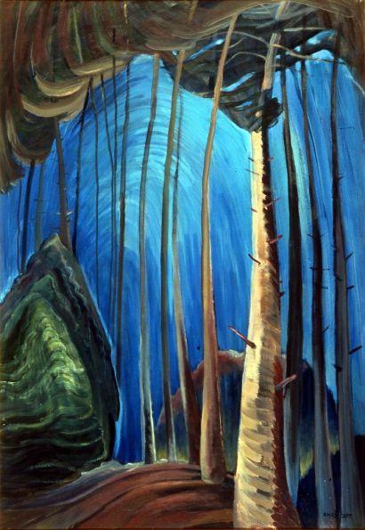 Blue Sky | Carr, Emily; oil on canvas; 1936