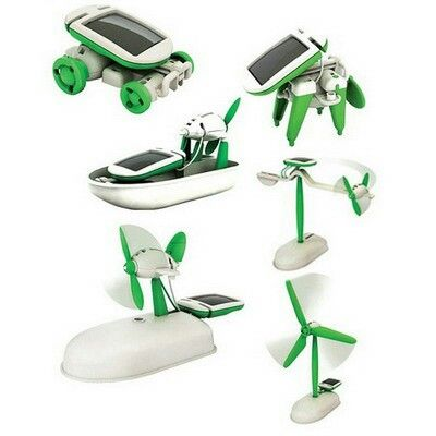#robot kits #solarcell 6 in 1 @ 130.000
