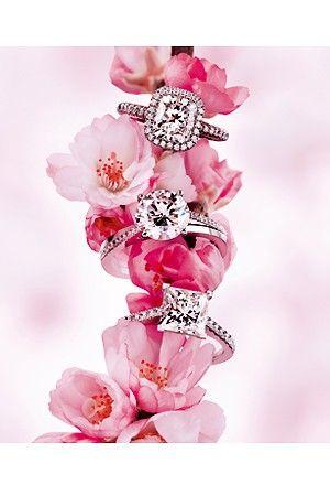 DeBeers diamond engagement rings Sakura cherry blossom  No. Yesssss yesssss