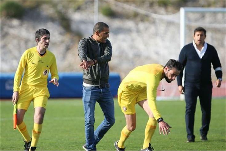 Fátima reage em comunicado: ″Houve empurrão ao árbitro, mas não agressão″