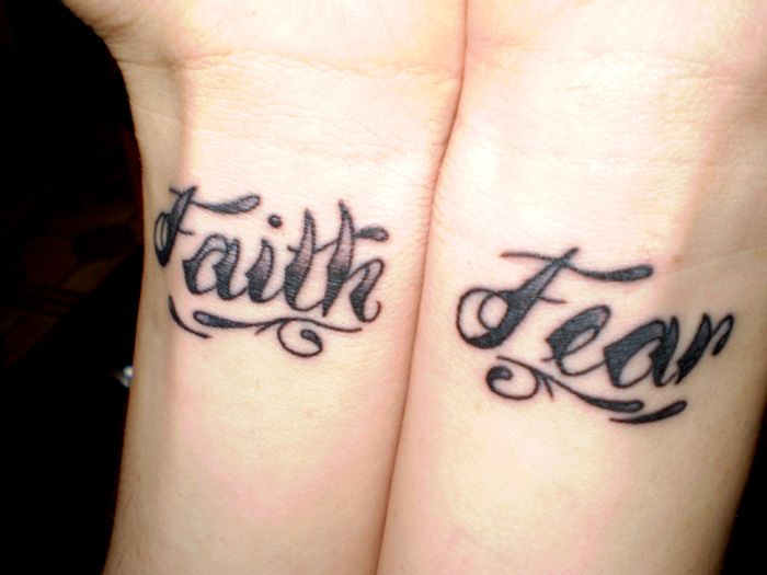 32 best faith over fear tattoos for men images on pinterest anxiety tattoo fear tattoo and. Black Bedroom Furniture Sets. Home Design Ideas