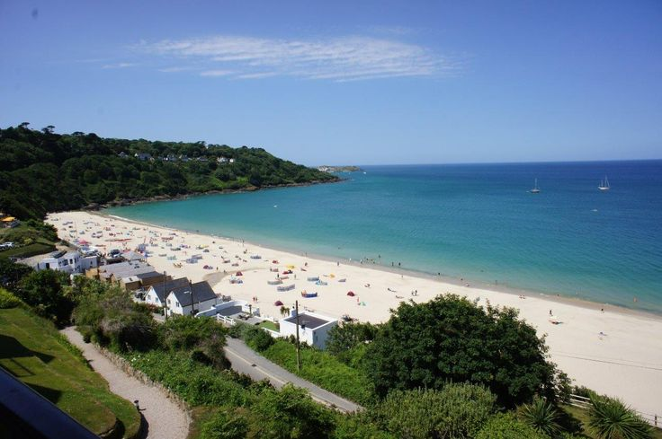 It's Summer on Carbis Bay beach, Cornwall! #holidays
