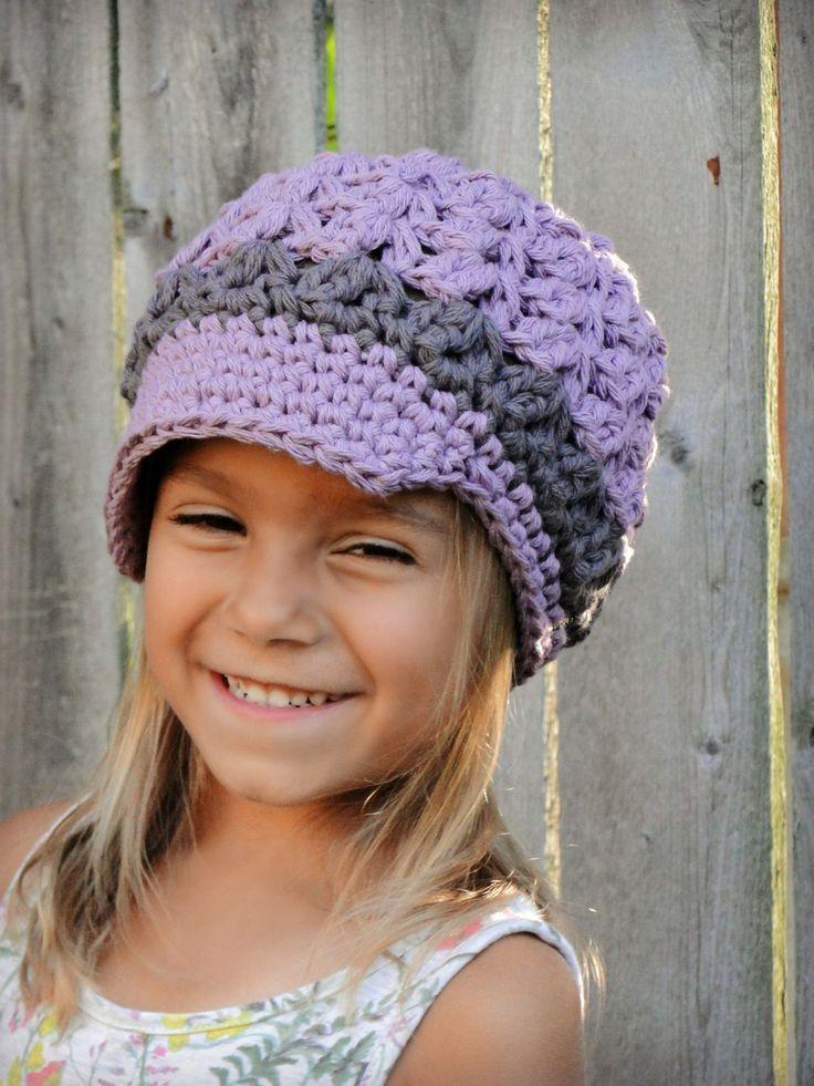 Niños sombrero sombrero de las niñas crochet por JuneBugBeanies