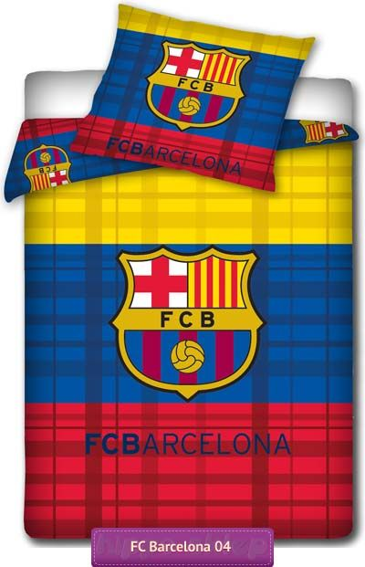 Bedding Fc Barcelona Bed Linen 3 Colours Pościel Fc