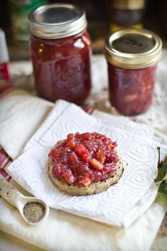 Cherry Jam with Honey, Black Pepper, and Orange Blossom