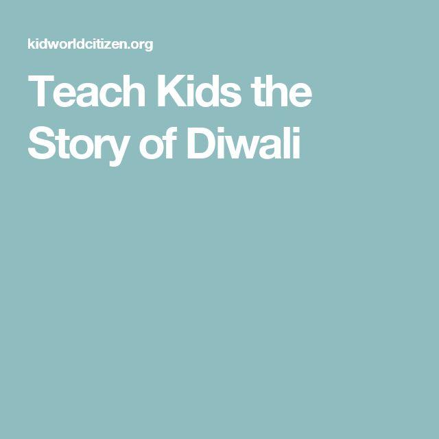 Teach Kids the Story of Diwali