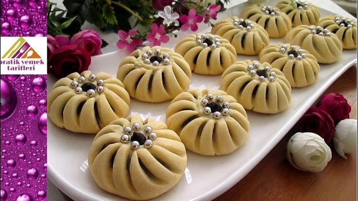 un kurabiyesinin en yeni hali Çarkıfelek Kurabiye Tarifi Pratik Yemek Ta...