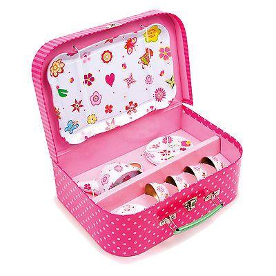 Details Zu Puppengeschirr Puppenservice Metall Spielzeug Teeservice Kinder  Geschirr Im Korb
