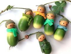 Tischdeko herbst basteln mit kindern  Die besten 25+ Mit Tannenzapfen basteln Ideen nur auf Pinterest ...