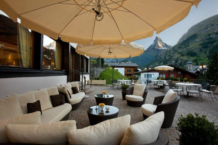Our sun terrace with its great view