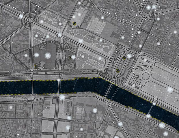 Spaceship Earth - MapBox - Paris