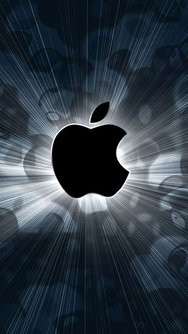 Обои wallpaper iPhone Apple logo