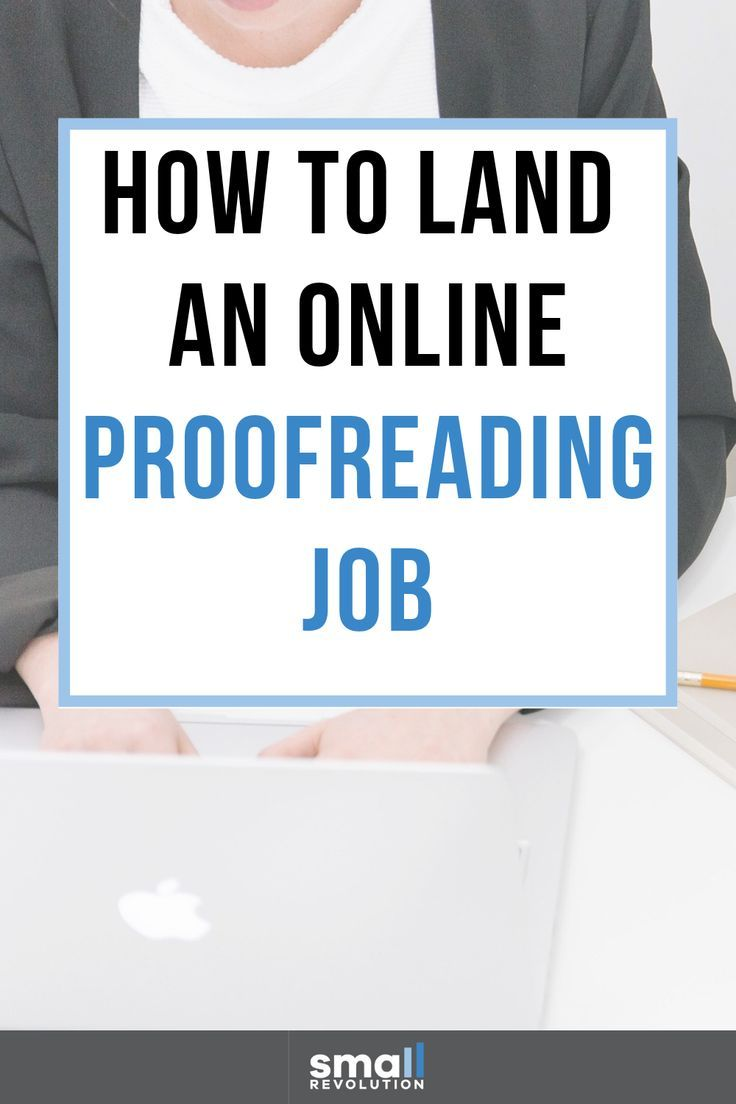 3 Simple Steps To Land An Online Proofreading Job Work From Home