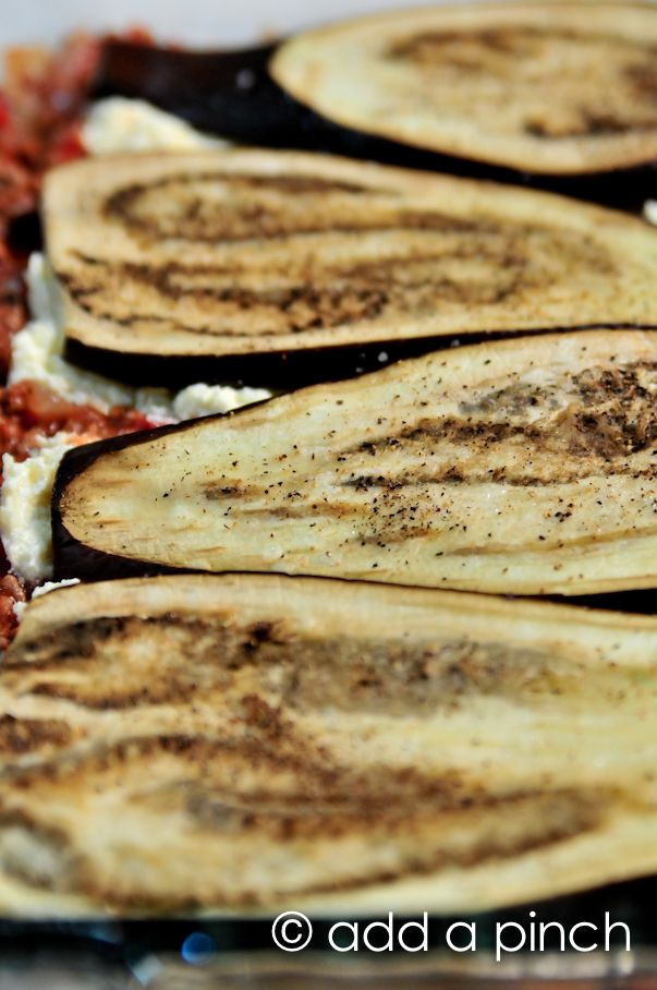 Easy Eggplant Lasagna Recipe (no noodles.  turkey meat,sauce,  eggplant subs in place of noodles)