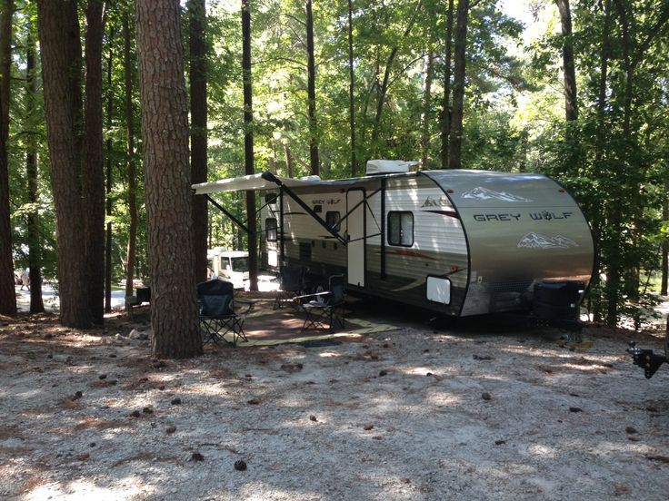 Grey Wolf 28BH setup for a client on c&site #321 on trail M at Stone & 10 best Different Campsites at Stone Mountain Park Campground images ...
