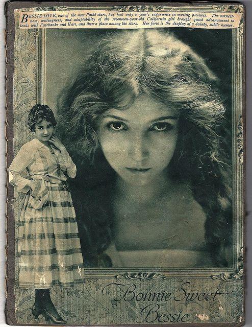Silent Film Scrapbook - Bessie Love (1898-1986)