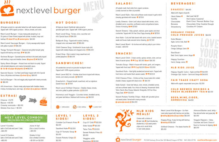 Healthy Fast Food Bend Oregon