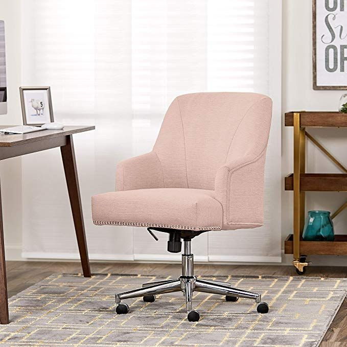 Amazon Com Serta Style Leighton Home Office Chair Bonded Leather White Kitchen Dining Home Office Chairs Upholstered Desk Chair Best Office Chair