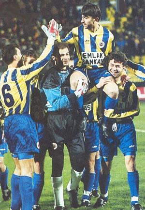 Ridvan Dilmen Jubile, Ocak 1996 Bursaspor maci