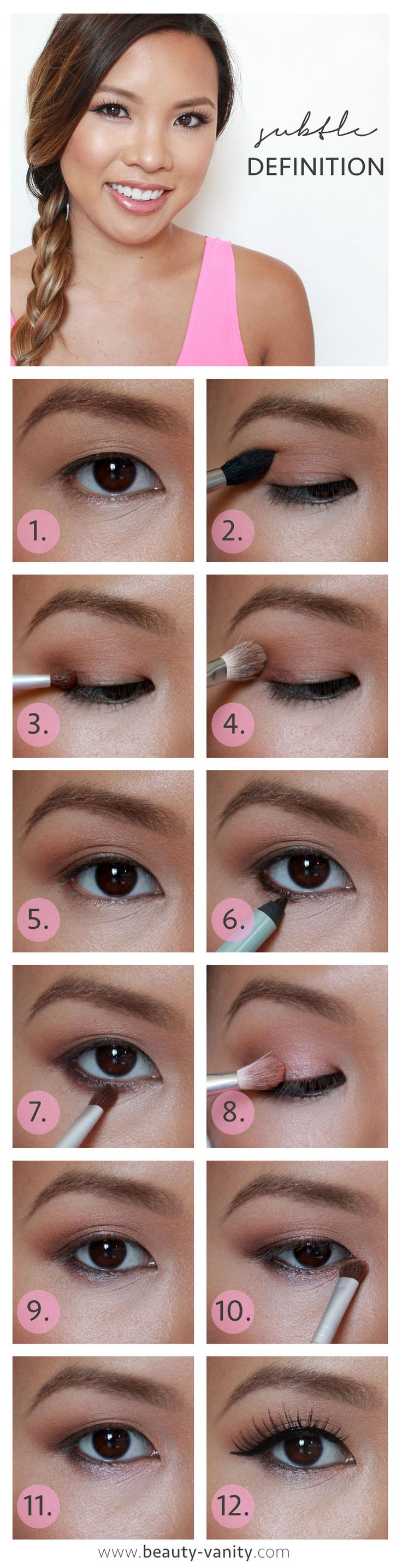 The Beauty Vanity  Easy Daytime Makeup For Asian Eyes