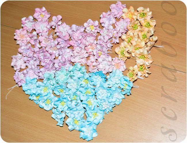Цветы из бумаги своими руками — Гардении   Скрапбукинг на scraboo.ru