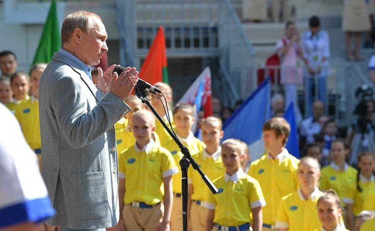 Visit toArtek International Children's Centre • President ofRussia