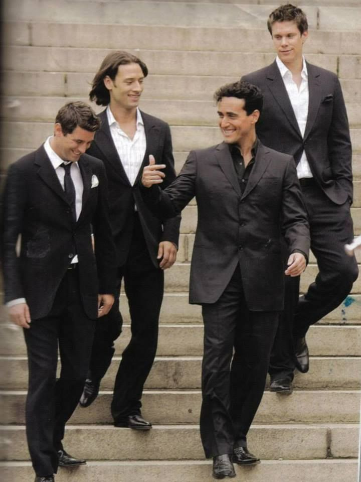 Il Divo Mrs Susan Ansley Klok here in New Zealand