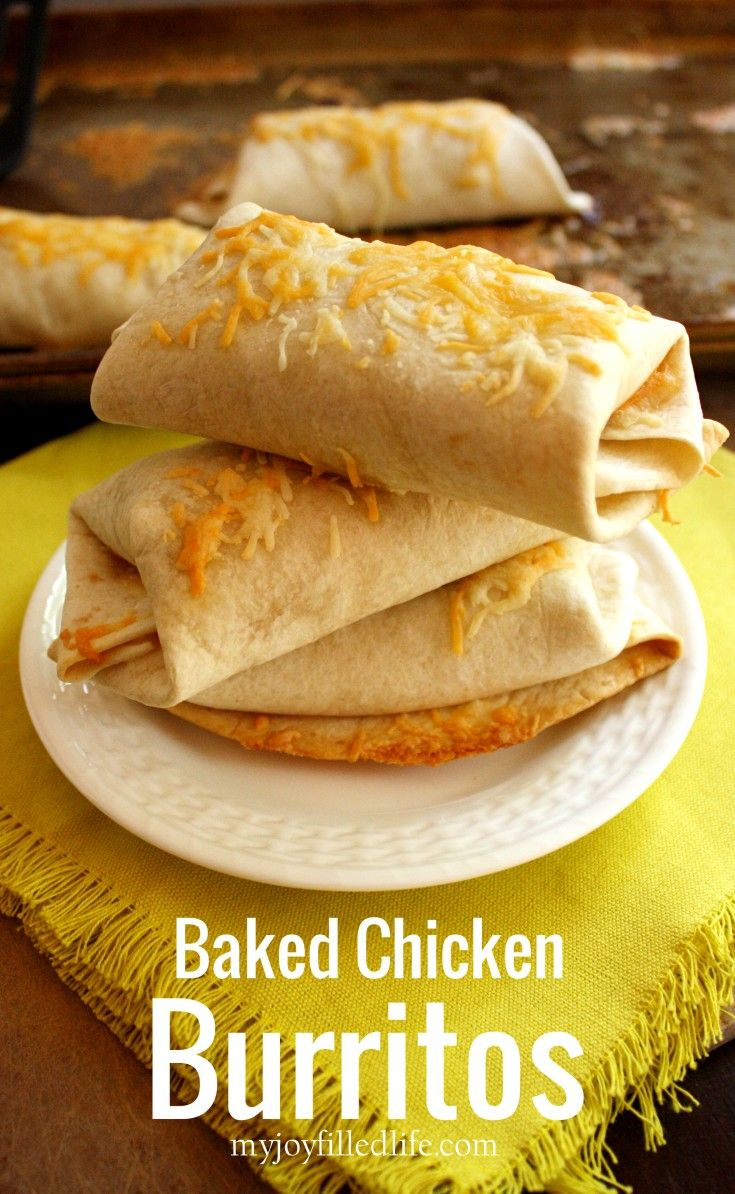 These Baked Chicken Burritos are quick, easy and delicious. The recipe has minimal ingredients and is super kid-friendly, but is also totally flexible; you can easily add things that you like. Click on the photo to read more...