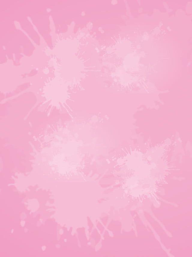 وردي ألوان مائية الخلفية تصوير Latar Belakang Ilustrasi Warna