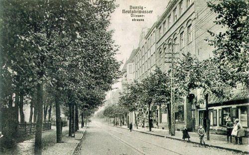 Ulica Oliwska, Nowy Port / Oliwska Street, New #Port