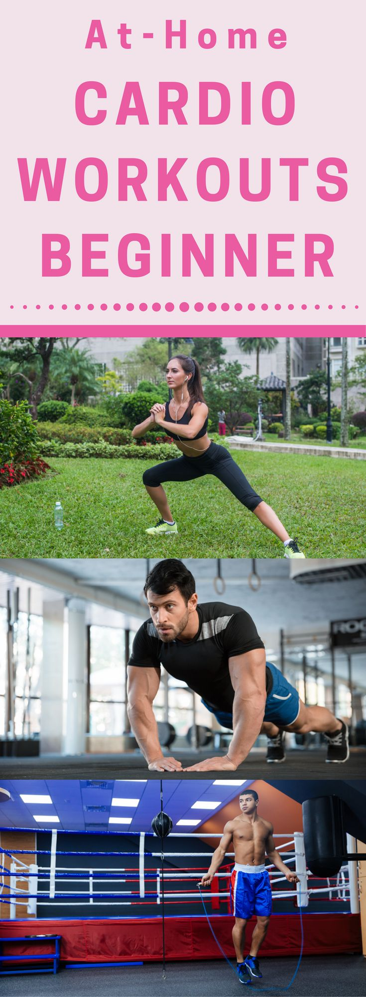 8 At-Home Cardio Workouts for the Beginners to Run - Fitness