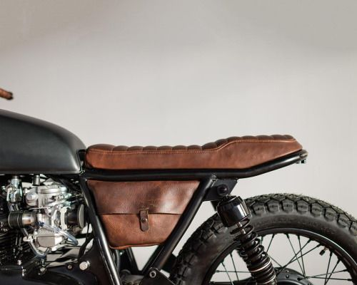 overboldmotorco: Child received again. @closleather customized upholstery…