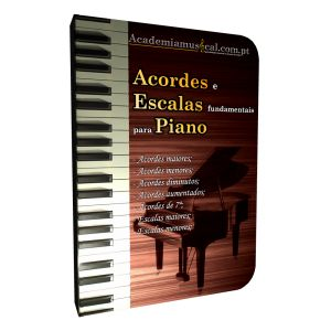 Acordes e Escalas fundamentais para Piano
